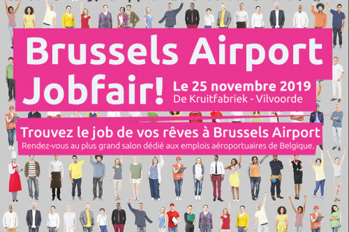 Brussels Airport Salon de l'emploi 25/11/19