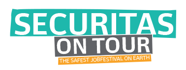 logo securitas on tour the safest jobfestival on earth